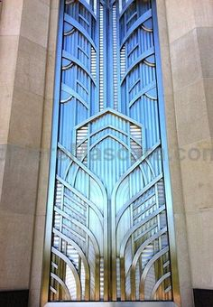 Art Deco Window, wow, the work that has gone into this is amazing.