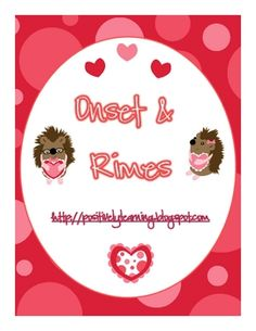 Valentine Onset & Rimes freebie