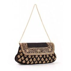 Tarika Box Sling - Ritu Kumar Bridal Bags and Clutches - Indian ...