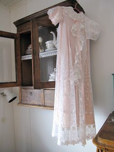 antique christening gown,