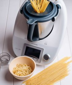 Pasta Thermomix, Cooking Spaghetti, Drip Coffee Maker, Diy Food, Rice Cooker, Vegan Recipes, Veggies, Food And Drink, Kitchen