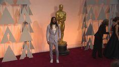 Oscars: Jared Leto Red Carpet (2015) .- (via https://www.youtube.com/watch?v=5iolqxpm2N0