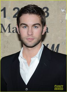 Chace Crawford at the Maison Martin Margiela for H Launch Party in NYC