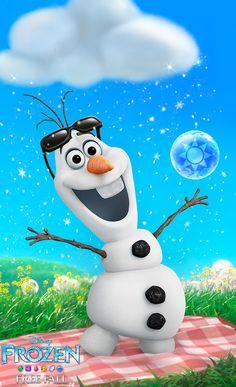 Frozen Free Fall App!