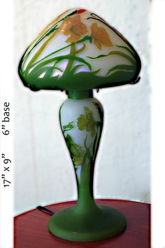 EMILLE GALLE CAMEO LAMP -