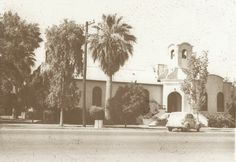 The second church building of First Methodist Church of Mesa