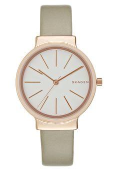 Horloges Skagen ANCHER - Horloge - rose gold-coloured goudrozekleurig: 159,95 € Bij Zalando (op 7/12/16). Gratis verzending & retournering, geen minimum bestelwaarde en 100 dagen retourrecht!