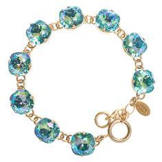 New Color! Catherine Popesco Large Stone Crystal Bracelet - Starshine - Catherine Popesco Jewelry - La Vie Parisienne - Jewelry