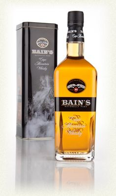 """Bain's Cape Whisky 75cl  Bottling Note South African single grain whisky! How often do you see that? """"Not often"""" is the answer, and the question was rhetorical so... Anyway, released in 2009, this is South Africa's first ever single grain whisky, coming from the The James Sedgwick Distillery in Wellington. Bain's Cape Mountain whisky is produced in column stills, matured in first fill bourbon casks for five years and named after the chap who built the first roads in Wellington."""