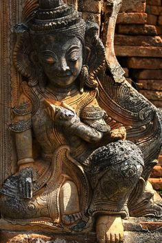 The spiritual feel in Angkor http://www.exoticvoyages.com/travel-blog/day-mysterious-angkor-temples/?utm_source=Pin&utm_medium=organic&utm_campaign=SM