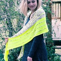 Kline Shawl is now available as an individual PDF from my Ravelry shop; originally published in knit.wear Spring/Summer 2016.
