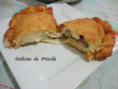"""Delícias da Priscila Beneducci: """"Fogazza Frita"""" do """"Chef Álvaro Rodrigues"""""""