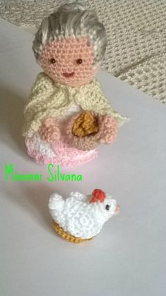 pollaia#crochet#amigurumi#uncinetto #silvi minonni