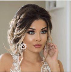 Raccolto morbido sposa Wedding hair