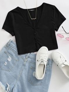 Girls Fashion Clothes, Teen Fashion Outfits, Outfits For Teens, Trendy Outfits, Swag Outfits, Really Cute Outfits, Cute Comfy Outfits, Cute Girl Outfits, Crop Top Outfits