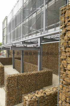 narrow gabion walls edit suits