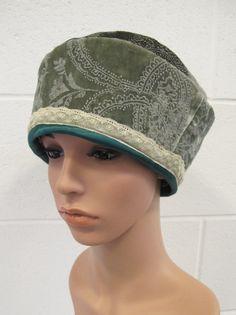 f2f8368d10f Items similar to Green Velvet Cloche Hat