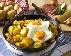 Unser beliebtes Rezept für Bratkartoffeln mit Spiegelei und mehr als 55.000 weitere kostenlose Rezepte auf LECKER.de.