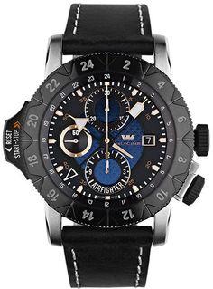 Glycine Watch Airman Airfighter Blue