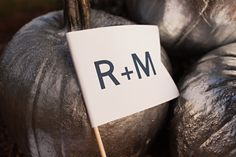 A Fall DIY Wedding At The Races With Silver Pumpkins