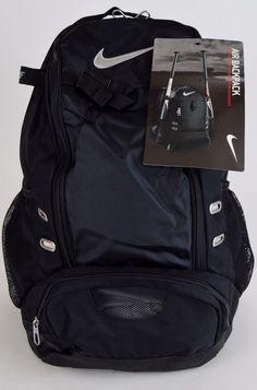 Backpack nike free Fashion store on NEW Nike Air Double Play Beisebol Softbol Dual Bat Bag Mochila Preto / Prata Softball Bat Bags, Softball Gear, Softball Backpacks, Softball Equipment, Baseball Gear, Baseball Bags, Softball Stuff, Volleyball Bags, Baseball Scoreboard