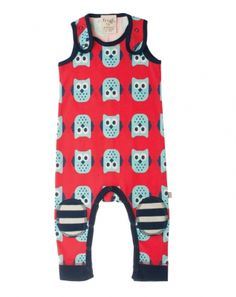 Owl Dungarees - Organic Clothes By Frugi
