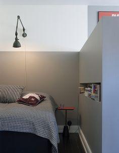 shelf in the wall