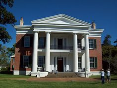 Melrose Plantation in Natchez, Mississippi. Today Natchez boasts more pre-Civil War homes and structures than any city it's comparable size.  Over 1000 buildings both residential and non are listed on the National Register of Historic Places.