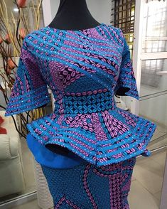 Outstanding Ankara Gown Styles to Rock - Vincisjournal Source by frankwears fashion dresses Latest African Fashion Dresses, African Dresses For Women, African Attire, African Print Fashion, Africa Fashion, African Women, Ankara Gown Styles, Ankara Gowns, African Traditional Dresses