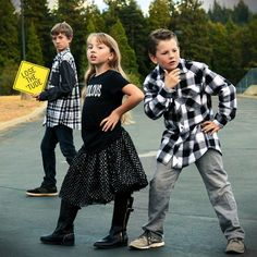 Fabulous Flannel Friday, kids fashion, lose the tude