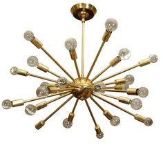 Sputnik Chandelier. Dining room = awesome!