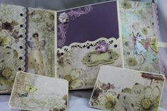 "TPHH, Premade mini album entitled  ""Fairy Belle"" by Darde #Handmade"