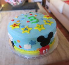 Mickey Mouse Cake by 3d_desserts