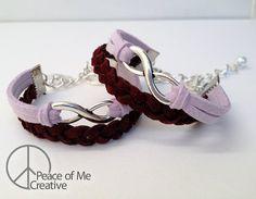 Simple Layered Big Sis / Lil Sis Matching Infinity Bracelets #SigmaKappa #BigSis #LilSis