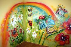 www.elakaras.eu vymalování dětského pokoje