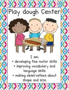 Bright Colors Center Signs by Herding Kats in Kindergarten Learning Stories, Toddler Learning Activities, Play Based Learning, Learning Through Play, Learning Centers, Early Learning, Preschool Activities, Learning Quotes, Mobile Learning