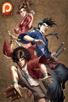 Battlecry by Quirkilicious ( Samurai Shamploo ) – CLS – Best Art images in 2019 Drake, Manga Anime, Anime Art, Fanart, Artist Alley, Samurai Art, Digital Illustration, Character Art, Fantasy Art
