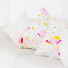 Brighten up your room with these DIY pattern throw pillows!
