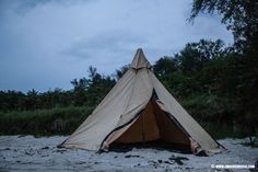The Tent Tipi Onyx 5 CP. Entry level price but superb quality and robustness.