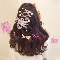 Kawaii Hairstyles, Pretty Hairstyles, Wig Hairstyles, Lolita Hair, Japanese Hairstyle, Hair Reference, Asian Hair, How To Draw Hair, Dream Hair