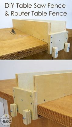 This is very simple design of a fence and also it provides perfect cuts. #workshop #DIYtools