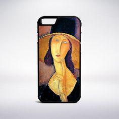 Amedeo Modigliani - Jeanne Hebuterne In A Large Hat Phone Case – Muse Phone…