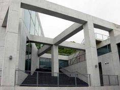 Himeji Museum of Literature. 1988-90. Jimeji, hyogo, Japón, Tadao Ando.