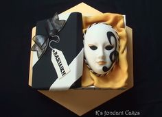Carnival Cakes On Pinterest Masquerade Mardi Gras And