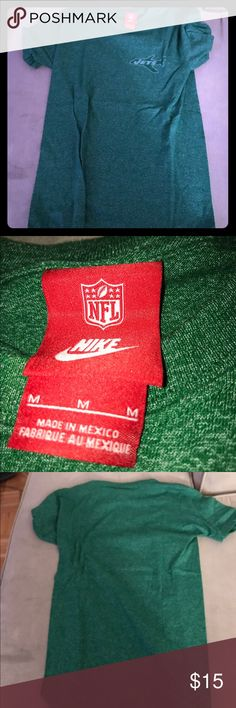 Jets green Nike tee shirt Never been worn green jets tee shirt Nike Tops Tees - Short Sleeve
