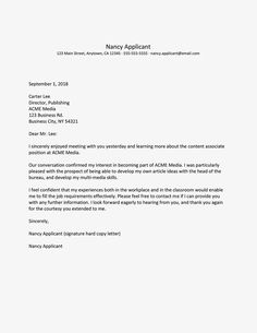 editable job interview thank you letter sample interview thank you letter template doc Thank You After Interview, Interview Thank You Letter, Job Interview Preparation, Formal Letter Template, Thank You Letter Template, Letter Templates, Interview Answers, Job Interview Tips, Letter Writing Samples