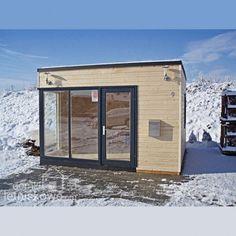 Drewniany całoroczny domek biuro (Wooden house) Julia 13 m2