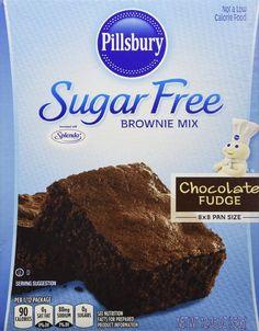 Pillsbury Sugar Free Mix - Chocolate Fudge Brownie - 12.35 oz - 2 Pack    $12.79