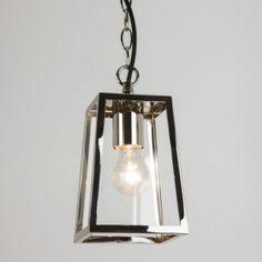 Lámpara colgante Calvi Níquel pulido, lámpara exterior de Astro en Tendenza Store