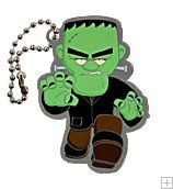 Fenton the Frankenstein Monster Travel Tag $5.50 USD After months of rest in their cobwebbed hideaways, monsters and zombies are back on the prowl and ready for Halloween. You'll find Fenton the Frankenstein slowly shuffling along, gathering caches wherever he goes, and giving fellow cachers a fright he stumbles upon.  This tag is trackable at www.geocaching.com with its own unique icon.